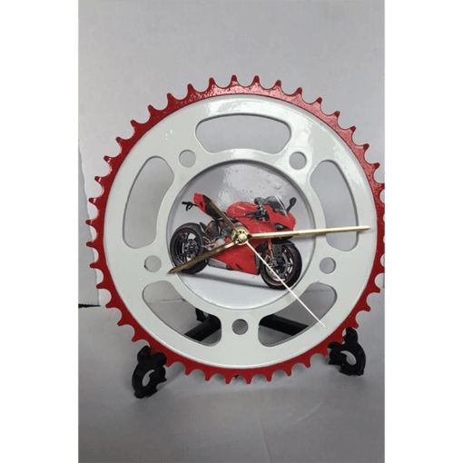 Sprocket Clock Customised – Powder Coated | TPC