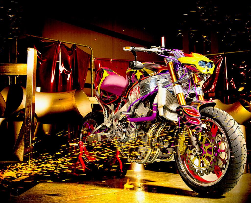 Modified Motorbike 1