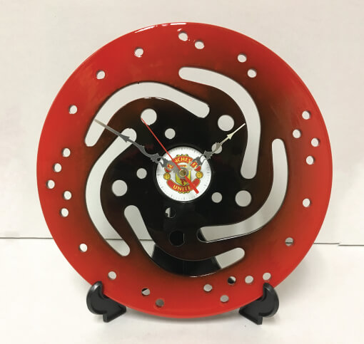 Sprocket Clock – Manchester United | TPC