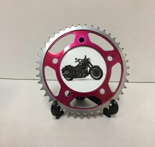 Sprocket - Motorcycle Red   TPC