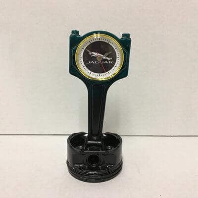 Jaguar Piston Clock
