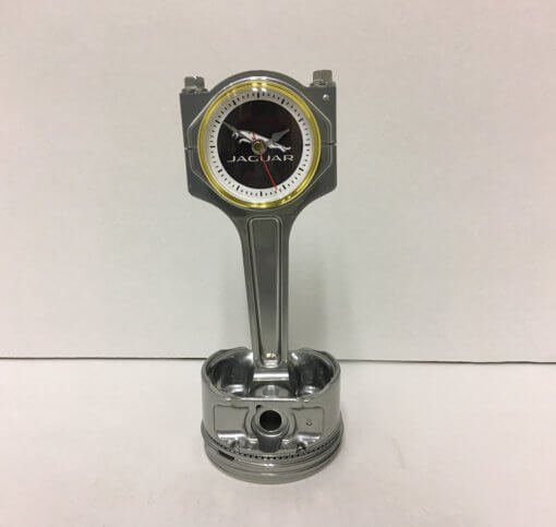 Jaguar Piston Clock Silver | TPC