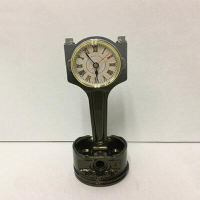 Piston Clock Grey to Black | TPC