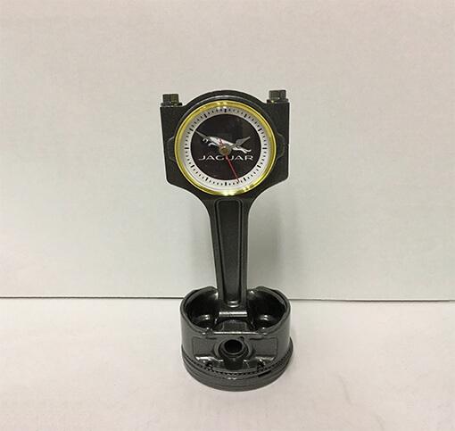 Jaguar Piston Clock Black | TPC